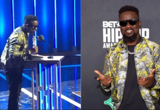 BET Hip Hop Awards: Ghanaian rapper, Sarkodie beats Falz, Nasty C to win BET 'Best International Flow Award'