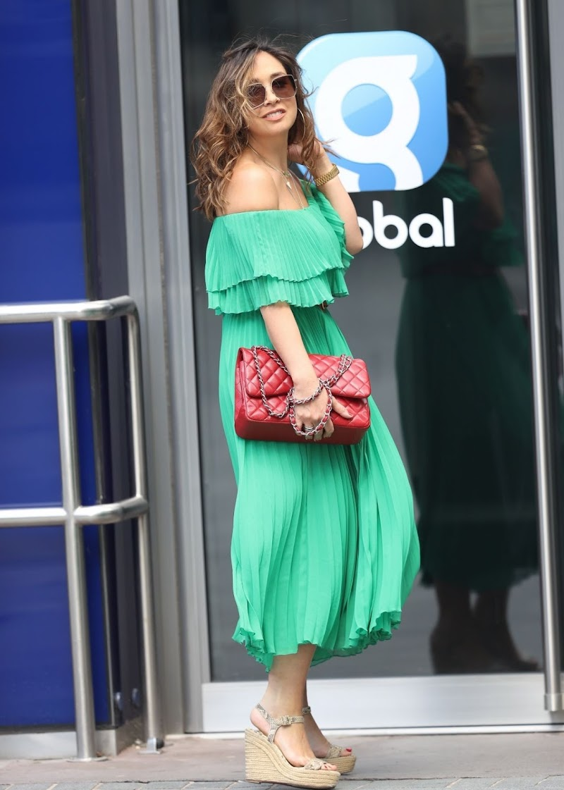 Myleene Klass Spotted at Smooth Radio in London 13 Jun-2020