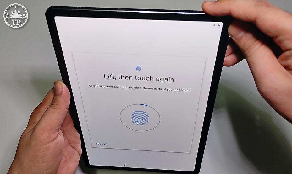 Lenovo Tab P11 Pro, Lenovo Tab P11 Pro Philippines, Lenovo Tab P11 Pro Fingerprint Scanner