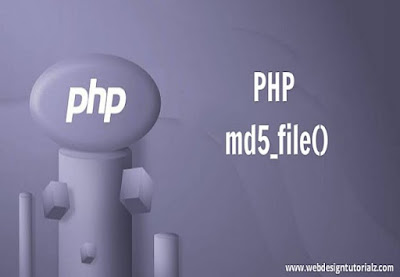 PHP md5_file() Function