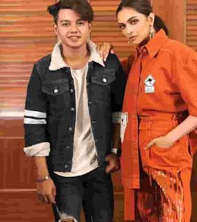Riyaz Aly With Deepika Padukone