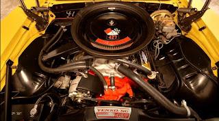 1969 Chevrolet Yenko Camaro 427 Engine