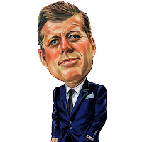 JFK, Kennedy, caricatura