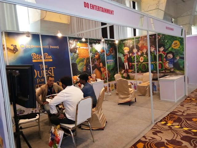 DQ Entertainment - India Licensing Expo at Sahara Star, Mumbai