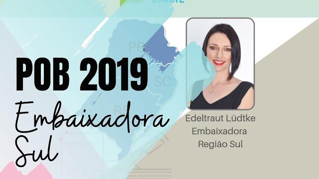 Embaixadora POB SUL 2019
