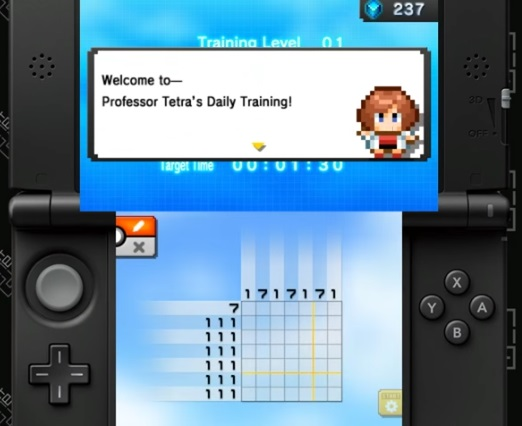 Pokémon Picross Treinamento Diário