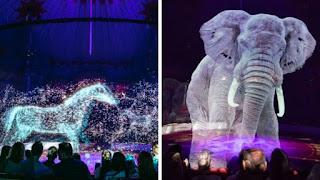 Τσίρκο στη Γερμανία χρησιμοποιεί ολογράμματα αντί για αληθινά ζώα