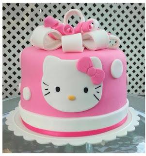 Gambar Kue Hello Kitty yang Lucu 5