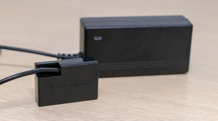 كيف توصيل كاميرا DSLR مباشر بالكهرباء ( البطارية الوهمية )