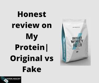 Honest review on My Protein| Original vs Fake