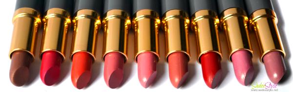 Medora Lipstick Shades
