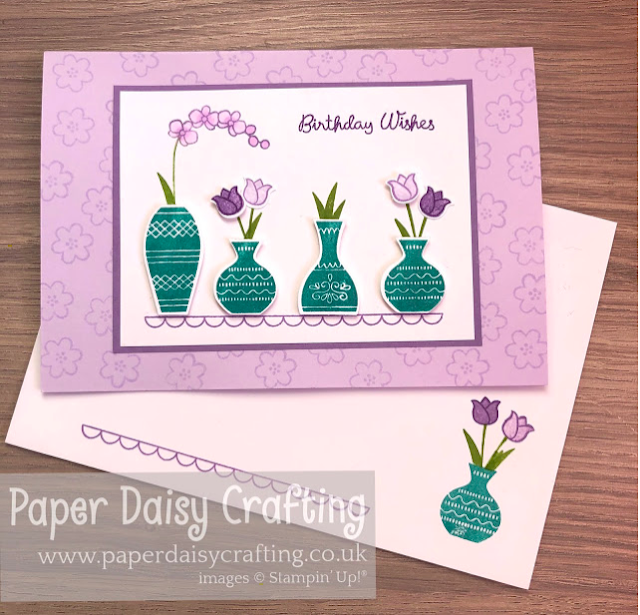 Nigezza Creates with Stampin' Up! and Paper Daisy Crafting