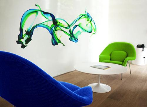 Papel tapiz impresos en alta resolución.