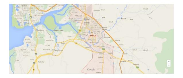 Godrej city panvel location map