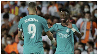 Vinicius-Benzema: la pareja goleadora del momento