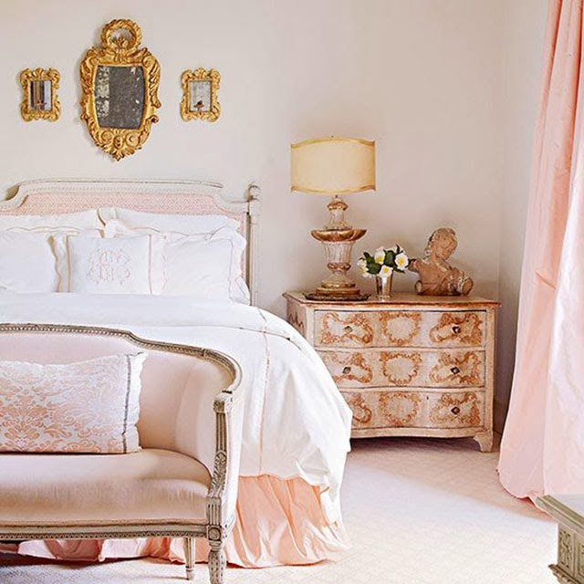 Gold Color Bedroom Ideas: Heart Of Gold: Get The Look:: The Perfect Headboards