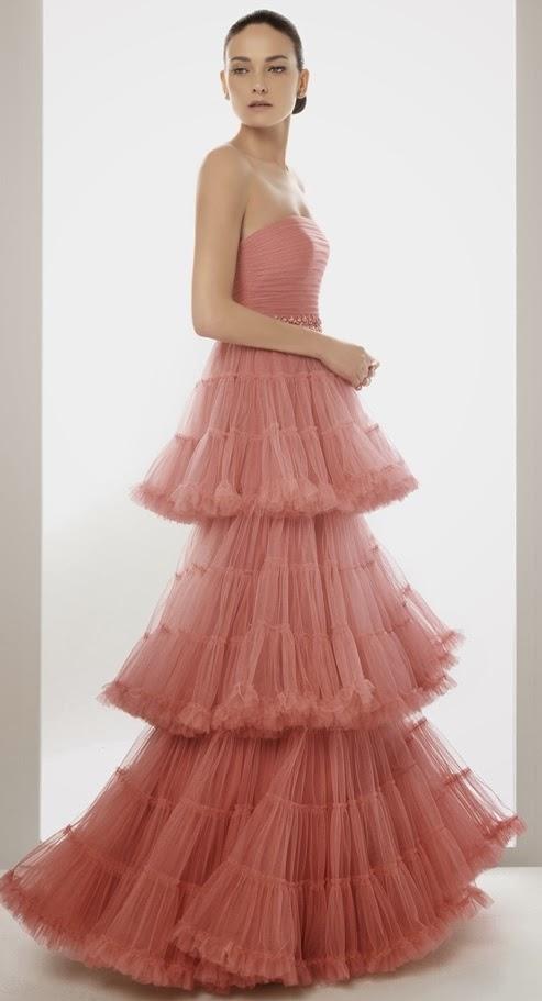 Moda De Modas Vestidos Color Palo Rosa