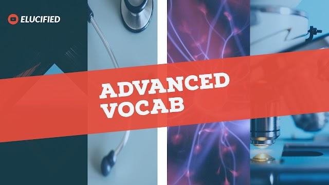 Advanced vocab 05