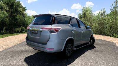 Mobil Toyota Fortuner AN160 V1 - ETS2 1.40