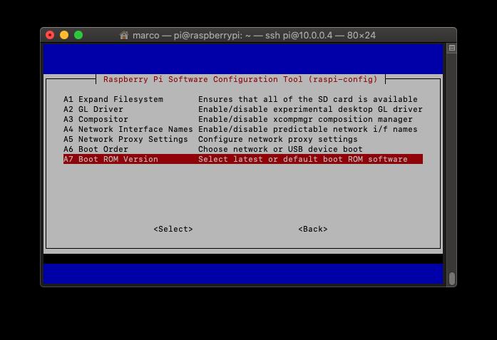 Come cambiare boot ROM version su Raspberry Pi