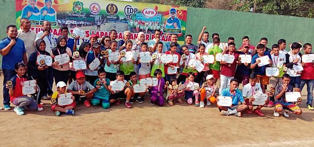 Kejurnas Tenis Antar Pelajar Piala Walikota Medan 2019: Inilah Juaranya