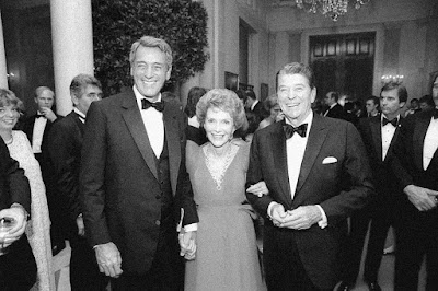 Rock Hudson, Nancy Reagan, President Ronald Reagan