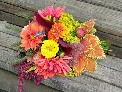 Image result for dahlia zinnia bouquet