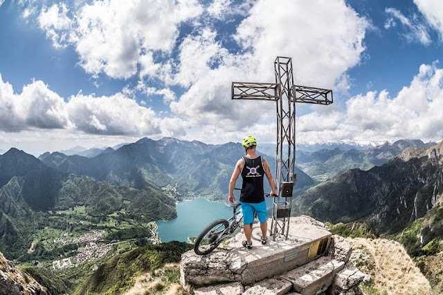 MTB Cima d' Oro Valle di Ledro - Mountainbike Touren am Gardasee