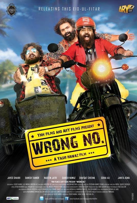 Poster Of Wrong No 2015 Pakistani 720p DVDRip ESubs Watch Online