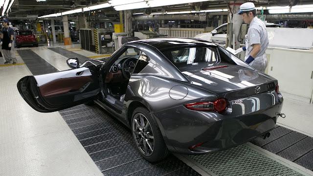 El nuevo Mazda MX-5 Miata RF ya esta en proceso de fabricación