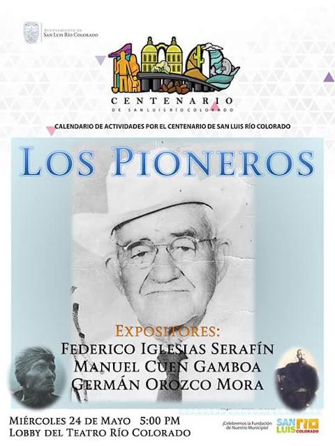 El Informante: Invitan a conferencia sobre pioneros de San Luis RC