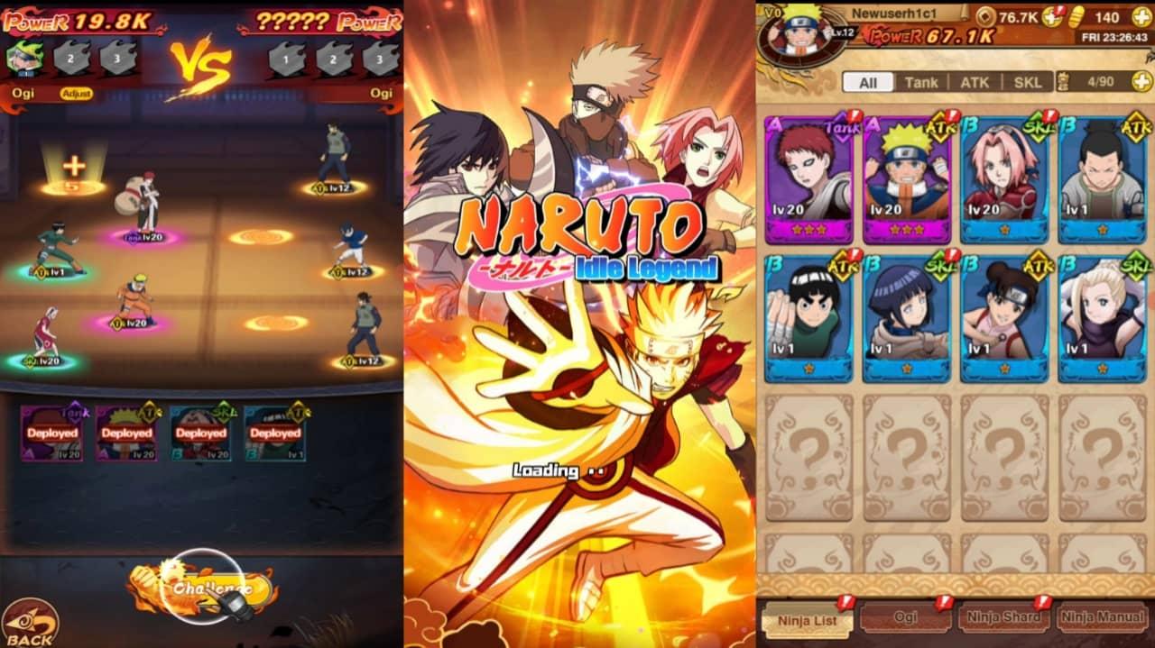 Naruto Idle Legend mod apk download