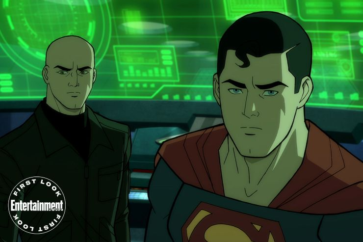 Superman: El hombre del mañana la nueva pelicula animada de Warner Bros
