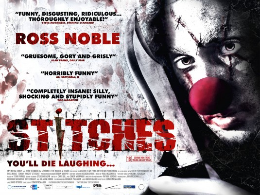 2012 Movie Poster: HORROR 101 With Dr. AC: STITCHES (2012) Movie Review
