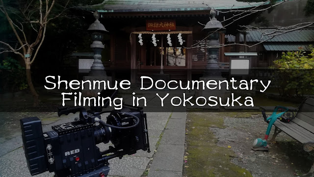 Shenmue Documentary Filming in Yokosuka | Photo Report