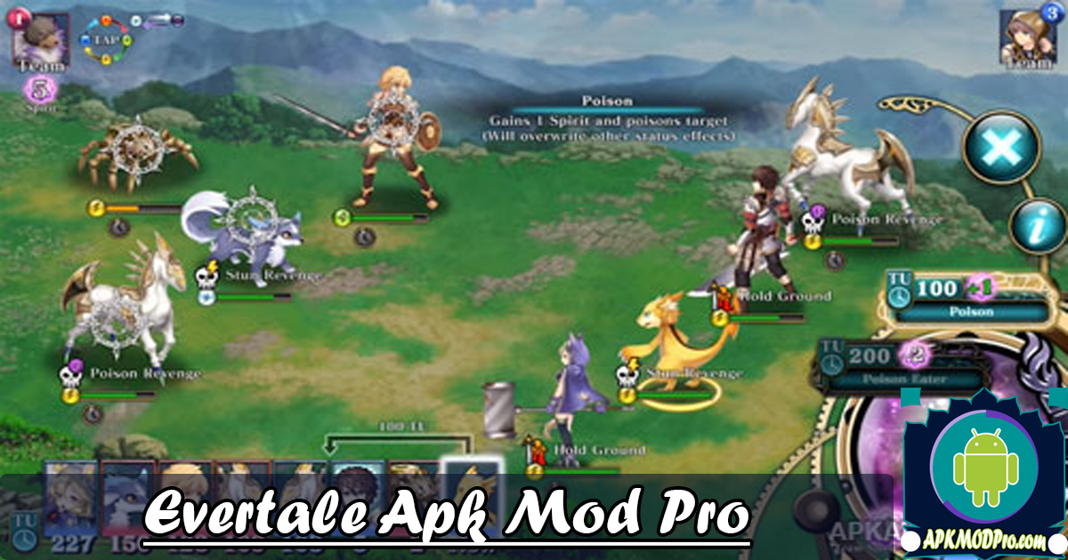 Download Evertale MOD APK v1.0.37 (MOD Free Shopping) Terbaru 2020
