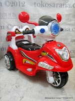4 Motor Mainan Aki Pliko PK6100 thor dengan Kendali Jauh