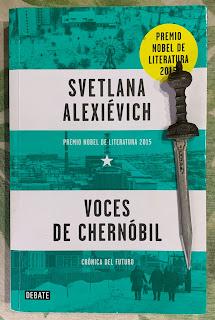 Portada del libro Voces de Chernóbil, de Svetlana Alexiévich