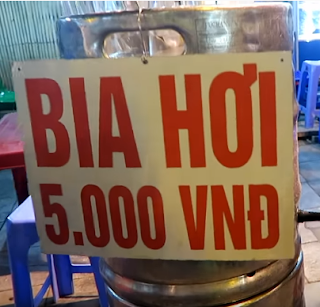 World cheapest beer is found in Vietnam-BIA HOI