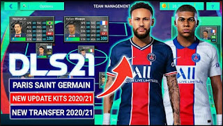 Download Dream League Soccer Mod Pes 2021 Spesial Paris Saint Germain