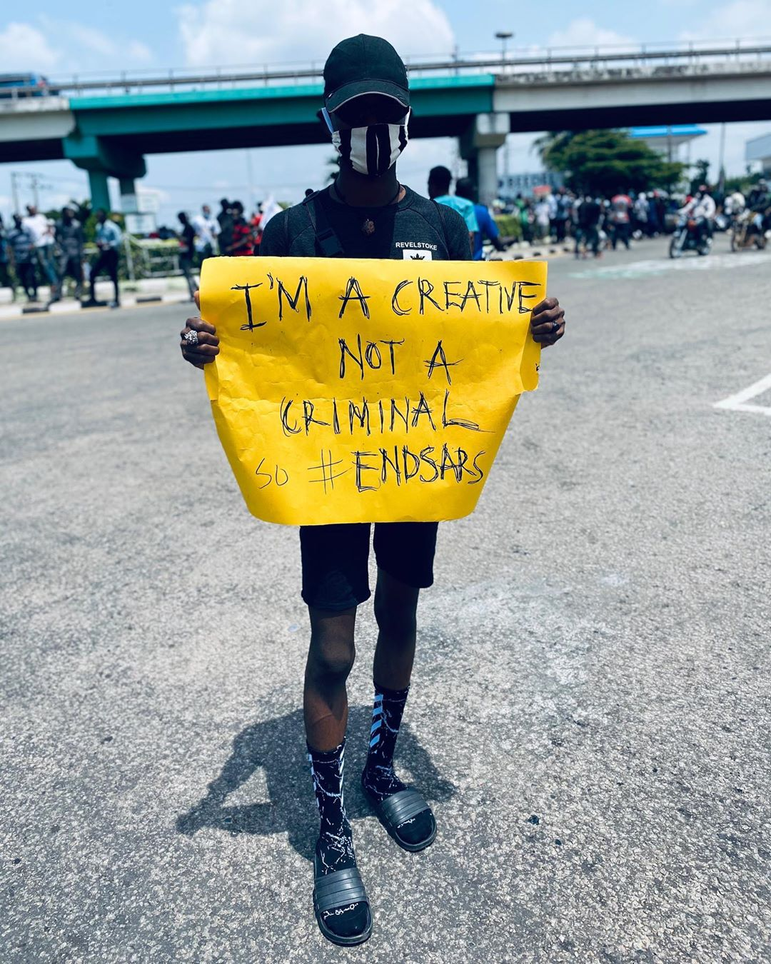 END SARS IN LAGOS