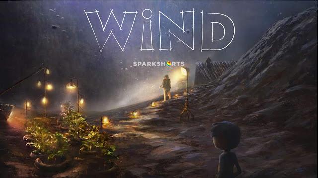 Pixar Sparkshort Wind Concept Art