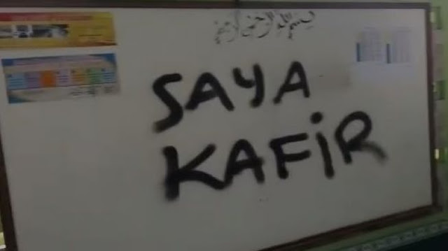 Belajar dari Medsos, Satrio Pencoret Musala 'Anti Islam' & 'Saya Kafir' Merasa Benar