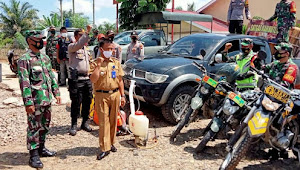 TNI –Polri Bersama Kades Sekecamatan Lembah Masurai Gelar Apel Karhutla