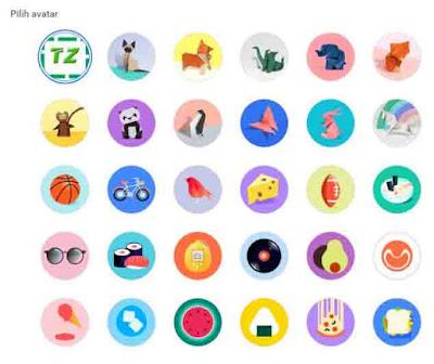 mengganti avatar google chrome