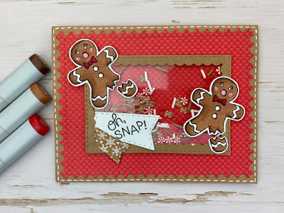 Oh Snap! by Meghan features Ginger Snap and Framework by Newton's Nook Designs; #newtonsnook