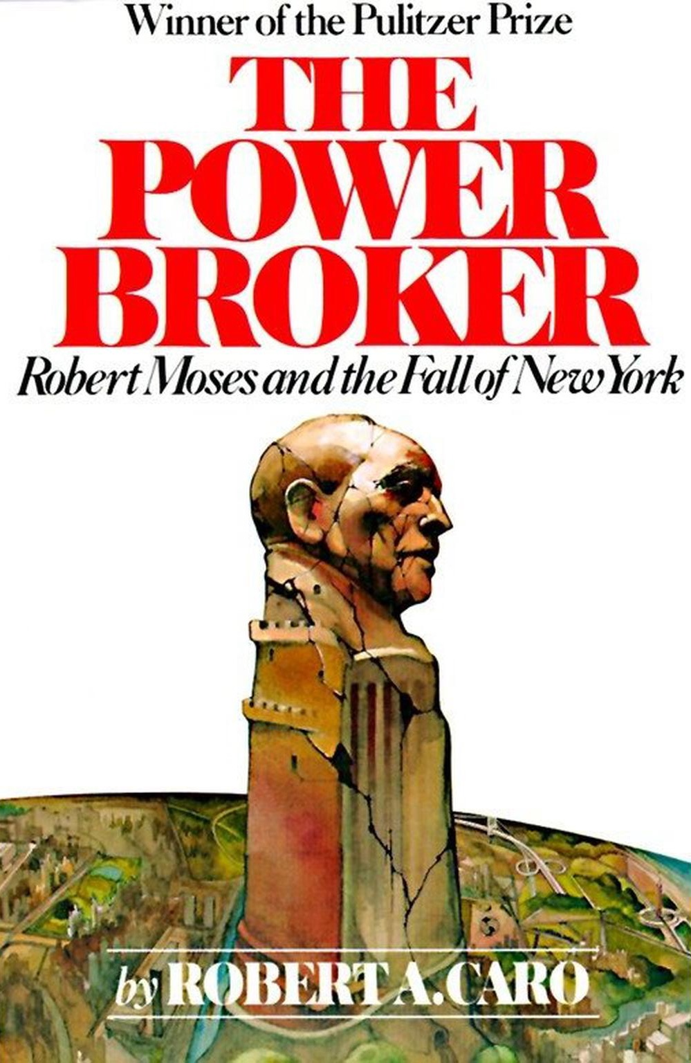 The cover of The Power Broker.