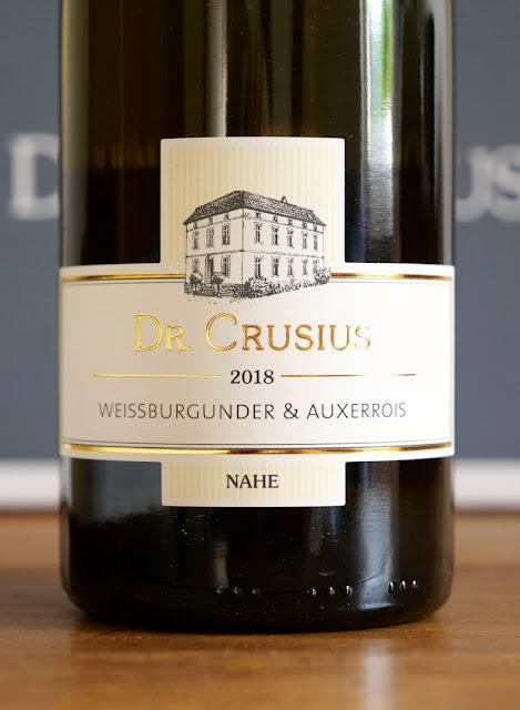 Weißburgunder Cuvee vom Weingut Dr. Crusius in Traisen an der Nahe.