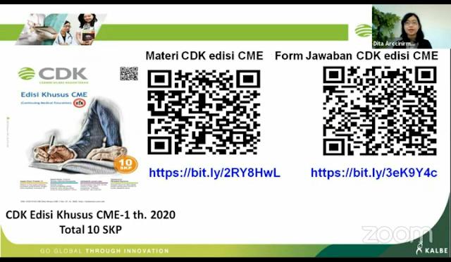 CDK Edisi Khusus CME-1 Th. 2020 (Total 10 SKP) by KALBE
