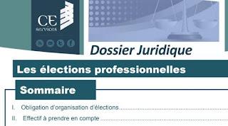 Les élections professionnelles PDF
